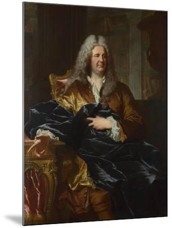 Portrait of Antoine Pâris, 1724-Hyacinthe François Honoré Rigaud-Mounted Giclee Print