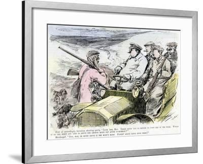 Shooting Party, 1906--Framed Giclee Print