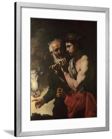 Mercury Piping to Argus, 1655-1657-Johann Karl Loth-Framed Giclee Print