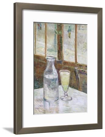Café Table with Absinth, 1887-Vincent van Gogh-Framed Giclee Print