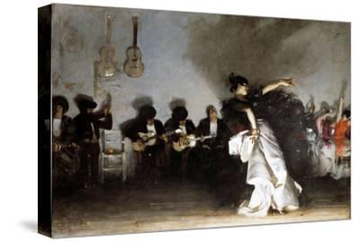 El Jaleo, 1882-John Singer Sargent-Stretched Canvas Print