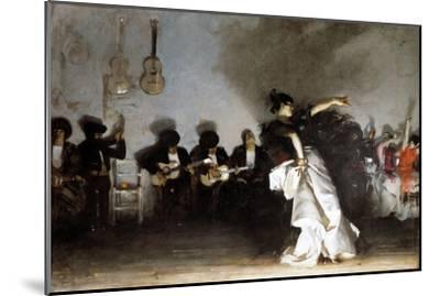 El Jaleo, 1882-John Singer Sargent-Mounted Giclee Print