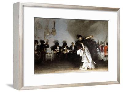 El Jaleo, 1882-John Singer Sargent-Framed Giclee Print