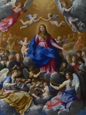 The Coronation of the Virgin, 1607-Guido Reni-Framed Giclee Print