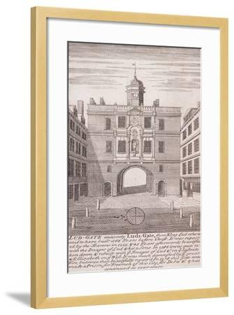 Ludgate, London, C1750--Framed Giclee Print