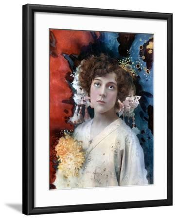 Florence Collingbourne in San Toy, C1902- Ellis & Walery-Framed Giclee Print