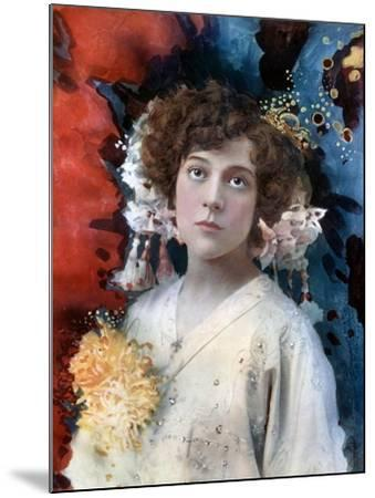 Florence Collingbourne in San Toy, C1902- Ellis & Walery-Mounted Giclee Print