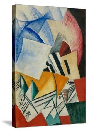 The Cupboard, 1918-Olga Vladimirovna Rozanova-Stretched Canvas Print