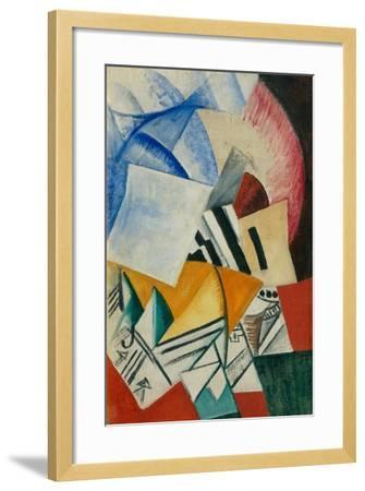The Cupboard, 1918-Olga Vladimirovna Rozanova-Framed Giclee Print