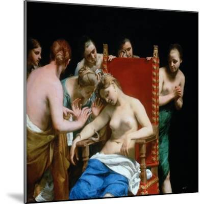 The Death of Cleopatra, Ca 1662-Guido Canlassi-Mounted Giclee Print