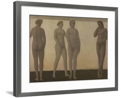 Artemis, 1893-1894-Vilhelm Hammershoi-Framed Giclee Print