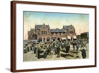 Market Buildings, Johannesburg, Transvaal, South Africa, C1904- Sallo Epstein & Co-Framed Giclee Print