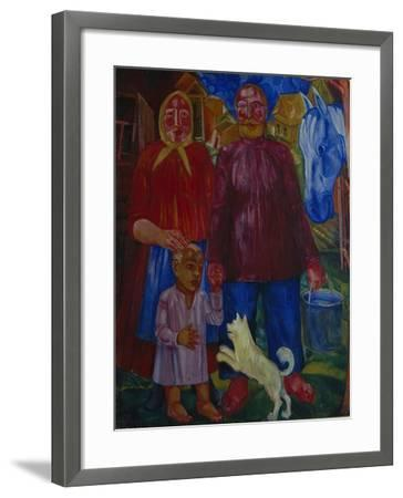 The Family of the Serednyaks, 1929-Viktor Nikandrovich Palmov-Framed Giclee Print