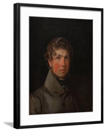 Self-Portrait, C.1833-Christen Schiellerup K?bke-Framed Giclee Print