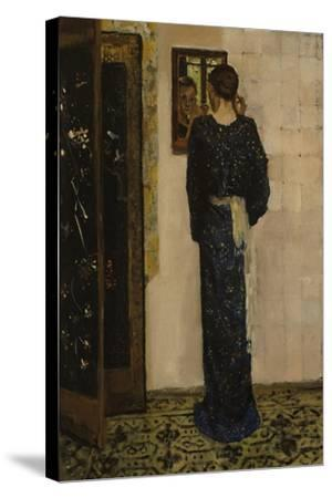 The Earring, 1893-George Hendrik Breitner-Stretched Canvas Print