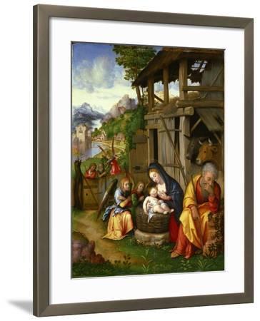 Nativity, Ca 1515-Lorenzo Leonbruno-Framed Giclee Print