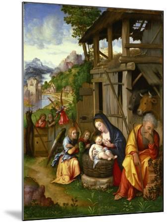 Nativity, Ca 1515-Lorenzo Leonbruno-Mounted Giclee Print