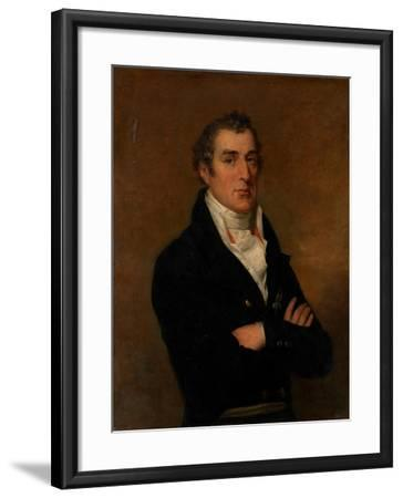 Portrait of Arthur Wellesley (1769-185), 1st Duke of Wellington-George Dawe-Framed Giclee Print
