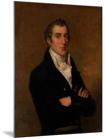 Portrait of Arthur Wellesley (1769-185), 1st Duke of Wellington-George Dawe-Mounted Giclee Print