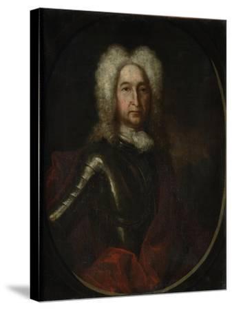 Portrait of Prince Ivan Alexeyevich Golitsyn (1658-172), 1728-Andrei Matveyevich Matveyev-Stretched Canvas Print