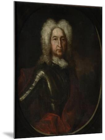 Portrait of Prince Ivan Alexeyevich Golitsyn (1658-172), 1728-Andrei Matveyevich Matveyev-Mounted Giclee Print