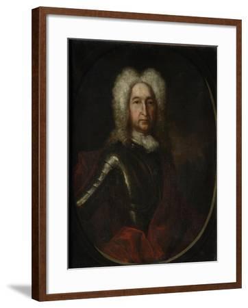 Portrait of Prince Ivan Alexeyevich Golitsyn (1658-172), 1728-Andrei Matveyevich Matveyev-Framed Giclee Print