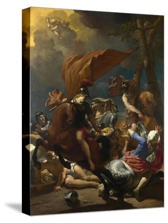 The Conversion of Saint Paul, 1662-Karel Dujardin-Stretched Canvas Print