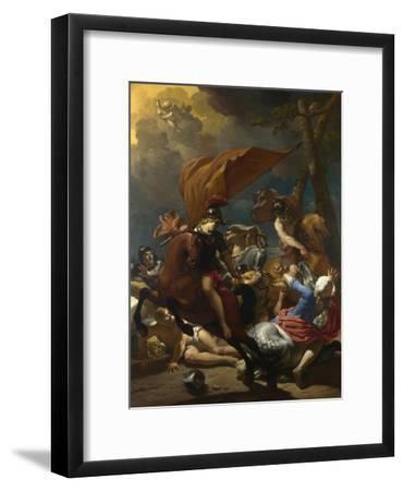 The Conversion of Saint Paul, 1662-Karel Dujardin-Framed Giclee Print