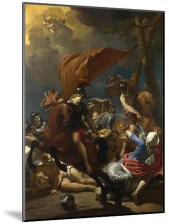 The Conversion of Saint Paul, 1662-Karel Dujardin-Mounted Giclee Print