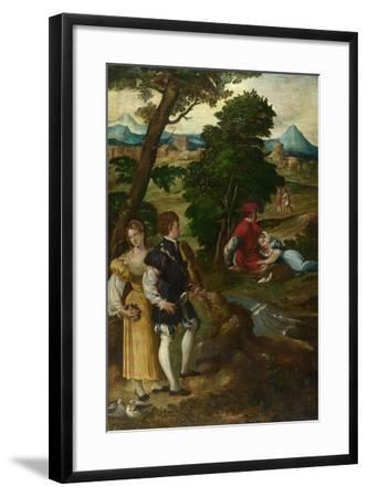The Garden of Love, C. 1535-1550-Bernardino  da Asola-Framed Giclee Print
