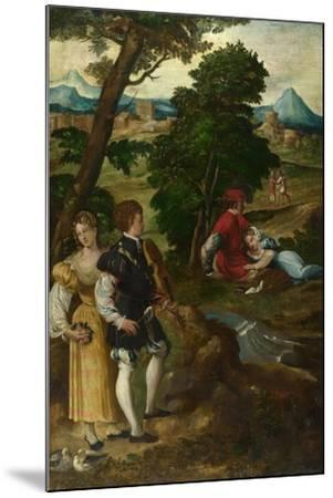 The Garden of Love, C. 1535-1550-Bernardino  da Asola-Mounted Giclee Print
