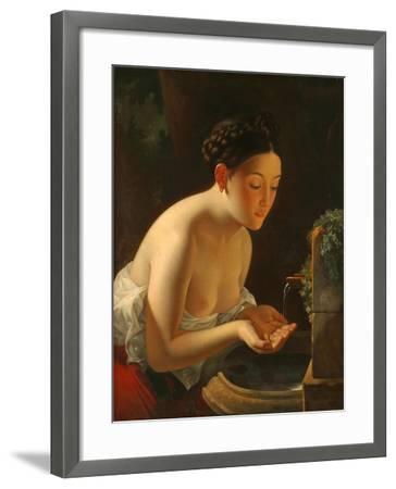 Italian Morning-Karl Pavlovich Briullov-Framed Giclee Print