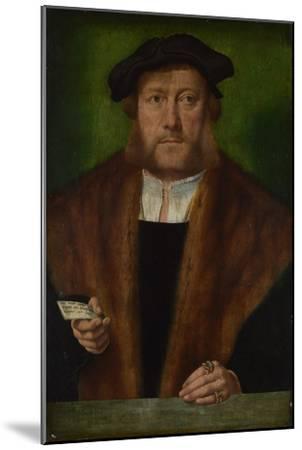 Portrait of a Man, Ca 1533-1534-Bartholomaeus Bruyn-Mounted Giclee Print