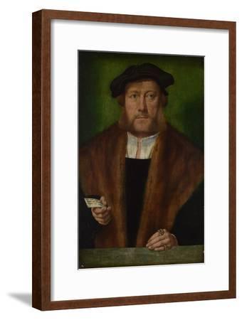 Portrait of a Man, Ca 1533-1534-Bartholomaeus Bruyn-Framed Giclee Print