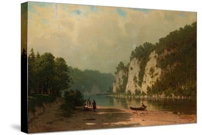 Chusovaya River-Pyotr Petrovich Vereshchagin-Stretched Canvas Print