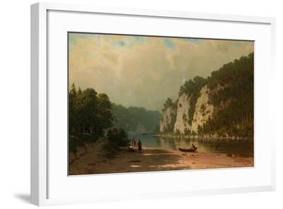 Chusovaya River-Pyotr Petrovich Vereshchagin-Framed Giclee Print