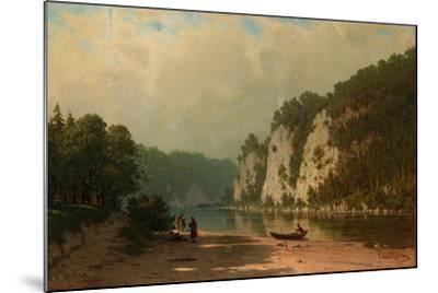 Chusovaya River-Pyotr Petrovich Vereshchagin-Mounted Giclee Print