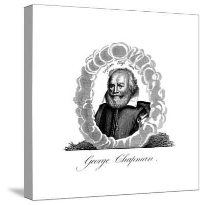 George Chapman, English Dramatist, Translator, Poet and Classical Scholar--Stretched Canvas Print
