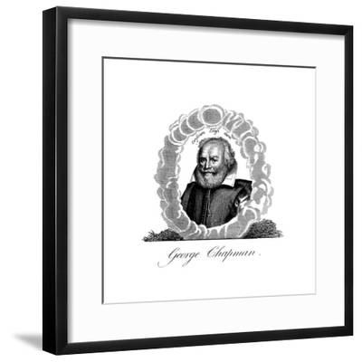 George Chapman, English Dramatist, Translator, Poet and Classical Scholar--Framed Giclee Print