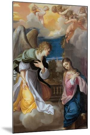 The Annunciation, 1603-1604-Lodovico Carracci-Mounted Giclee Print