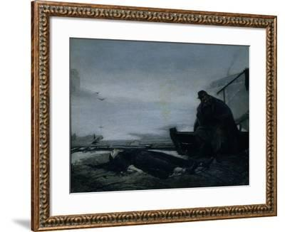 The Drowned, Mid of 1860S-Vasili Grigoryevich Perov-Framed Giclee Print