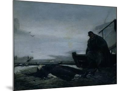 The Drowned, Mid of 1860S-Vasili Grigoryevich Perov-Mounted Giclee Print
