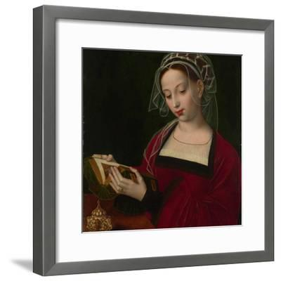 Mary Magdalene Reading, C. 1525-Ambrosius Benson-Framed Giclee Print