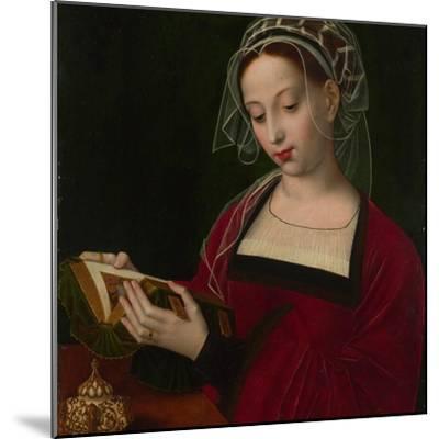 Mary Magdalene Reading, C. 1525-Ambrosius Benson-Mounted Giclee Print