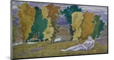 Stage Design for the Ballet Daphnis Et Chloé by M. Ravel, 1912-L?on Bakst-Mounted Giclee Print