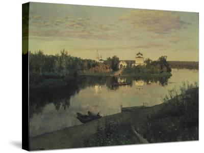 The Evening Ringing, 1892-Isaak Ilyich Levitan-Stretched Canvas Print