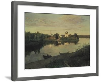 The Evening Ringing, 1892-Isaak Ilyich Levitan-Framed Giclee Print