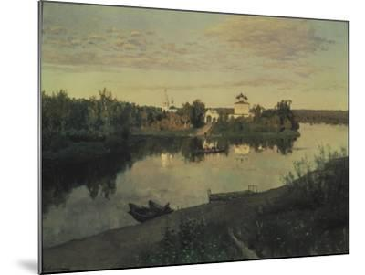 The Evening Ringing, 1892-Isaak Ilyich Levitan-Mounted Giclee Print