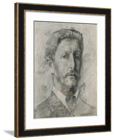 Self-Portrait, 1904-1905-Mikhail Alexandrovich Vrubel-Framed Giclee Print