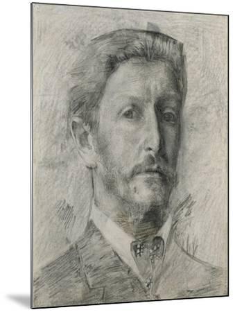 Self-Portrait, 1904-1905-Mikhail Alexandrovich Vrubel-Mounted Giclee Print